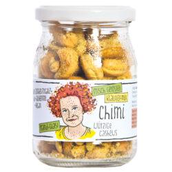 GUTDING Chimi - geröstete Bio-Cashews Kräutermix im Pfandglas, ohne Zuckerzusatz, glutenfrei & vegan 6x125g