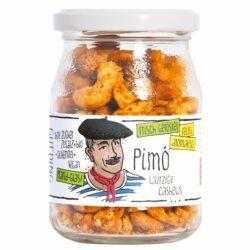 GUTDING Pimo - geröstete Bio-Cashews feurig-pikant im Pfandglas, ohne Zuckerzusatz, glutenfrei & vegan 6x125g
