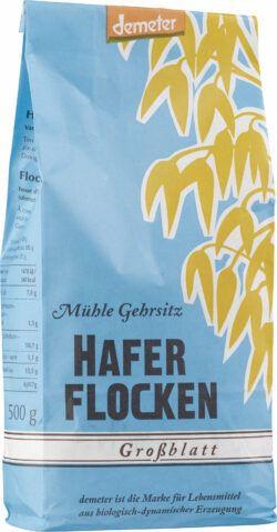 Gehrsitz Haferflocken demeter, Großblatt 6x500g