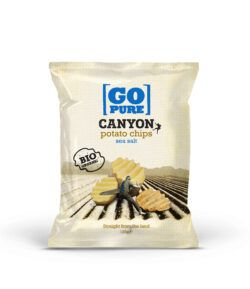 GoPure Canyon potato chips sea salt vegan/glutenfrei 6x125g