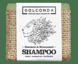 Golconda - Sustainable Products Golconda Haarseife - Rosmarin Brennnessel 65g
