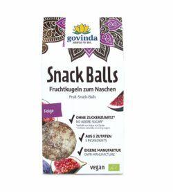 Govinda Snack Balls Feige 6x100g