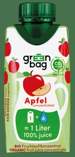 Green-Bag concentrated Bio Apfelsaftkonzentrat 24x200ml
