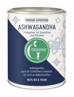 Greenic Ashwagandha Superfood Trinkpulver 4x140g