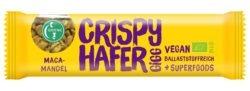 Greenic Crispy Hafer Gigg Müsliriegel: Maca-Mandel (Müsli-Riegel mit Superfoods) 12x35g