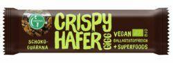 Greenic Crispy Hafer Gigg Müsliriegel: Schoko-Guarana (Müsli-Riegel mit Superfoods) 12x35g