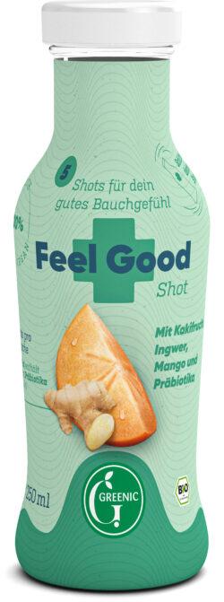 Greenic Feel Good Shot Vorratsflasche 6x250ml
