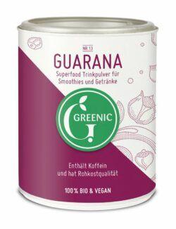 Greenic Guarana Superfood Trinkpulver 4x130g
