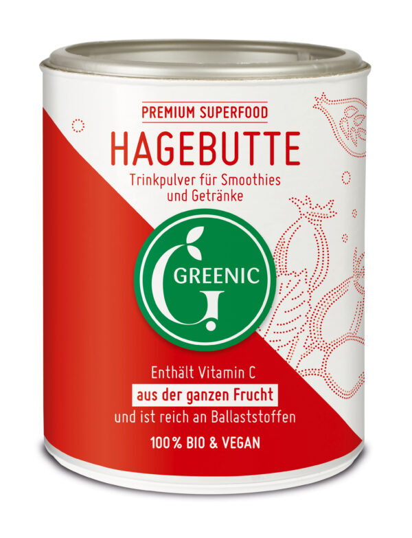 Greenic Hagebutte Superfood Trinkpulver 130g