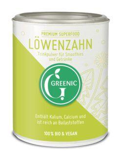 Greenic Löwenzahn Superfood Trinkpulver 4x100g