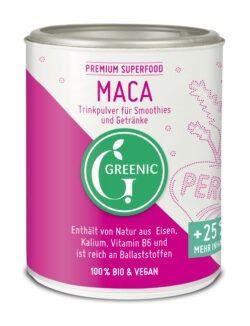 Greenic Maca Superfood Trinkpulver 4x150g