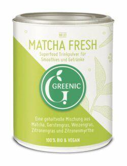 Greenic Matcha Fresh Superfood Trinkpulver Mischung 4x80g