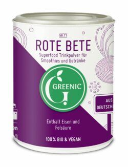Greenic Rote Bete Superfood Trinkpulver 130g