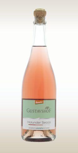 Gustavshof Holunder Secco alkoholfrei 6x0,75l