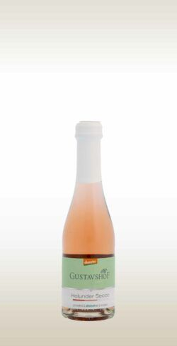 Gustavshof Holunder Secco alkoholfrei Piccolo 8x0,2l