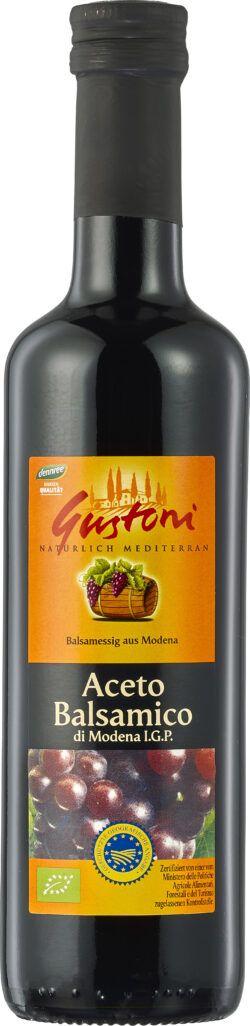 Gustoni Aceto Balsamico di Modena I.G.P., 6% Säure 6x500ml