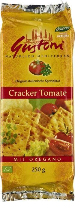 Gustoni Cracker Tomate mit Oregano 12x250g