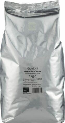 Gustoni Gastro Café Crema, ganze Bohne 6x1kg