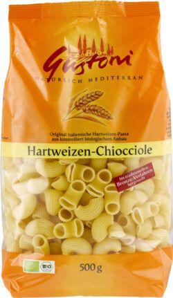 Gustoni Hartweizen-Chiocciole, Original italienische Hartweizen-Pasta 12x500g