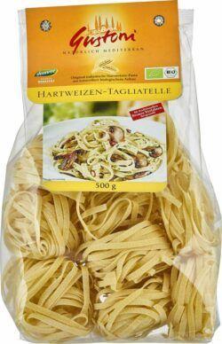 Gustoni Hartweizen-Tagliatelle, Original italienische Hartweizen-Pasta 12x500g