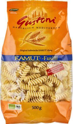 Gustoni KAMUT®-Fusilli, Original italienische KAMUT®-Pasta 12x500g