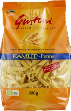 Gustoni KAMUT®-Penne, Original italienische KAMUT®-Pasta 12x500g
