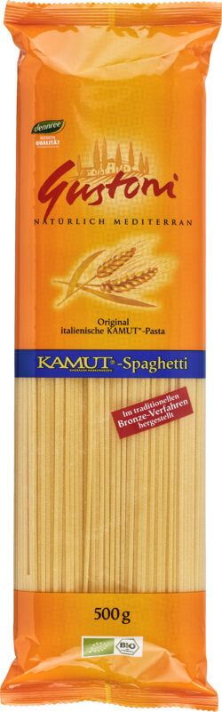 Gustoni KAMUT®-Spaghetti, Original italienische KAMUT®-Pasta 12x500g