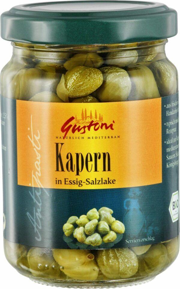 Gustoni Kapern in Essig-Salzlake 6x140g