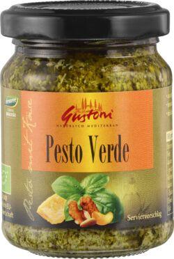 Gustoni Pesto Verde, mit Käse 12x125g