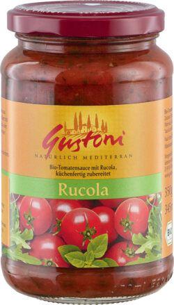 Gustoni Tomatensauce mit Rucola, küchenfertig zubereitet 6x350g