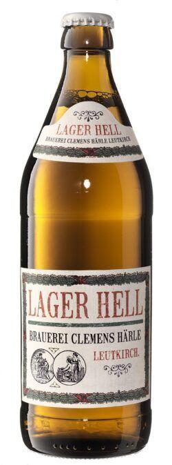 Härle-Bier Biobier Lager Hell 20x0,5l