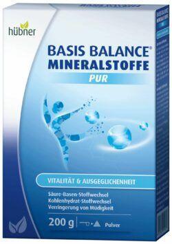 Hübner BASIS BALANCE® MINERALSTOFFE PUR 200g