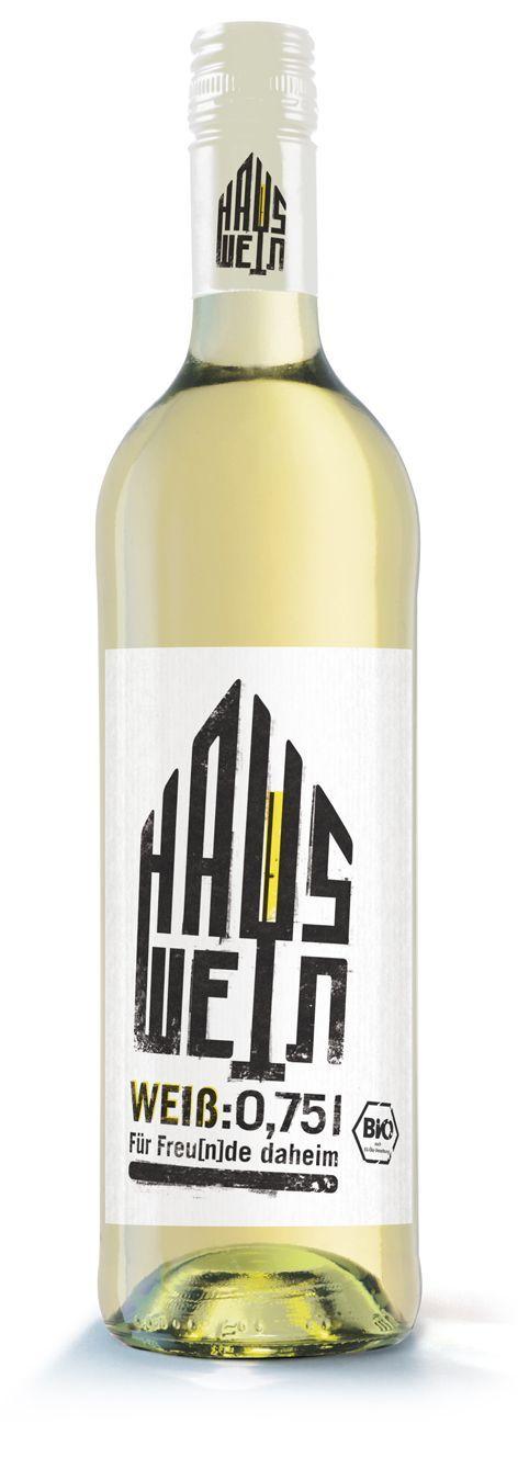 HAUSWEIN - Für Freu[n]de daheim (weiß) 750ml