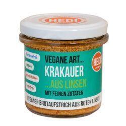 HEDI Vegane Art... Krakauer mit feinen Zutaten 140g