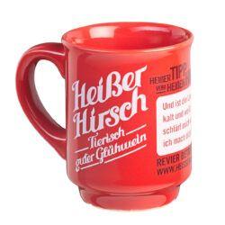 HEISSER HIRSCH - Tasse 1Stück