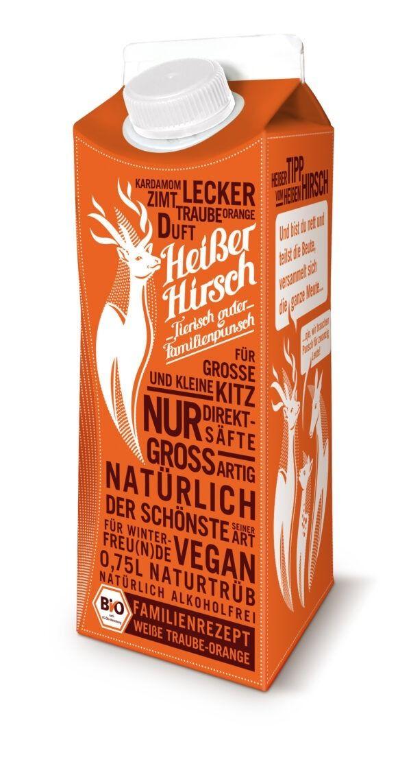 HEISSER HIRSCH - Tierisch guter Familienpunsch // Familienrezept