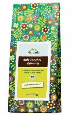 HERBARIA Anis-Fenchel-Kümmel-Tee bio 6x200g