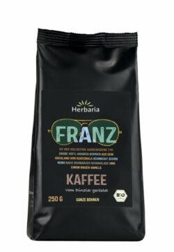 HERBARIA Franz Kaffee ganz bio 250g