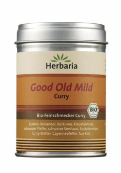 HERBARIA Good Old Mild Curry bio M-Dose 80g
