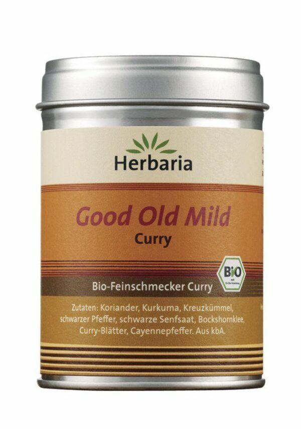 HERBARIA Good Old Mild Curry bio M-Dose 6x80g