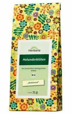 HERBARIA Holunderblüten bio 6x75g