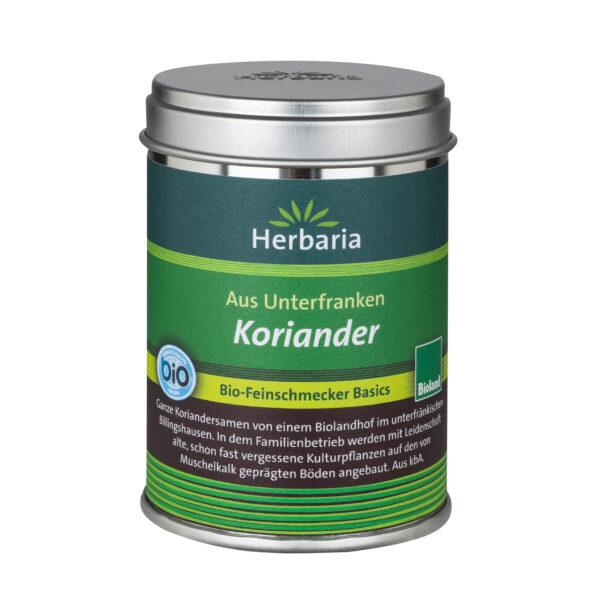 HERBARIA Koriander bio -Bioland M-Dose 40g