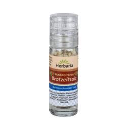 HERBARIA Mediterranes Brotzeitsalz bio Mini-Mühle 15g