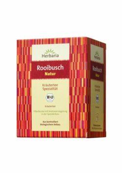 HERBARIA Rooibusch Natur bio 15 Filterbeutel 6x30g