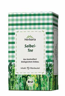 HERBARIA Salbei-Tee bio 15 Filterbeutel 6x30g