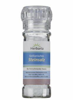 HERBARIA Sizilianisches Steinsalz Mühle 100g
