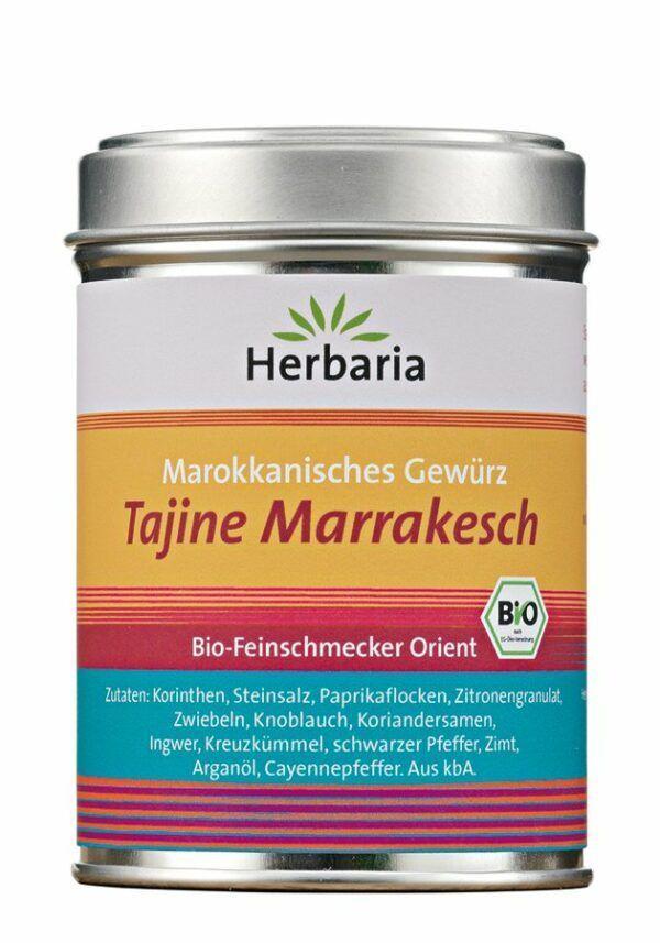 HERBARIA Tajine Marrakesch bio M-Dose 6x100g