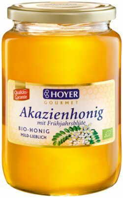 HOYER Akazienhonig mit Frühjahrsblüte 6x1kg