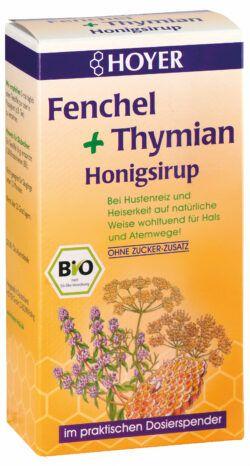HOYER Fenchel + Thymian Honigsirup 250g