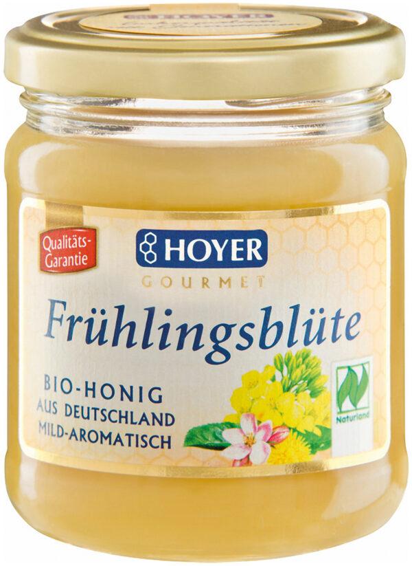 HOYER Frühlingsblütenhonig NATURLAND 6x250g